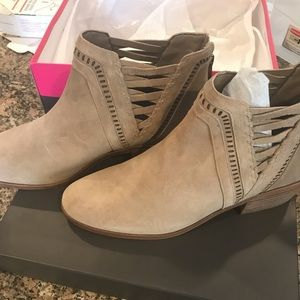 Vince Camuto suede booties. Brand new